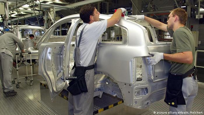 Завод Audi в Неккарзульме