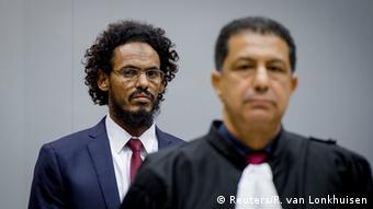 Mali Ahmad Al Faqi Al Mahdi vor dem Internationalen Strafgerichtshof in Den Haag