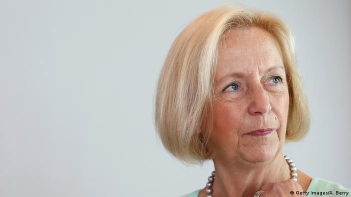 German Education Minister Johanna Wanka