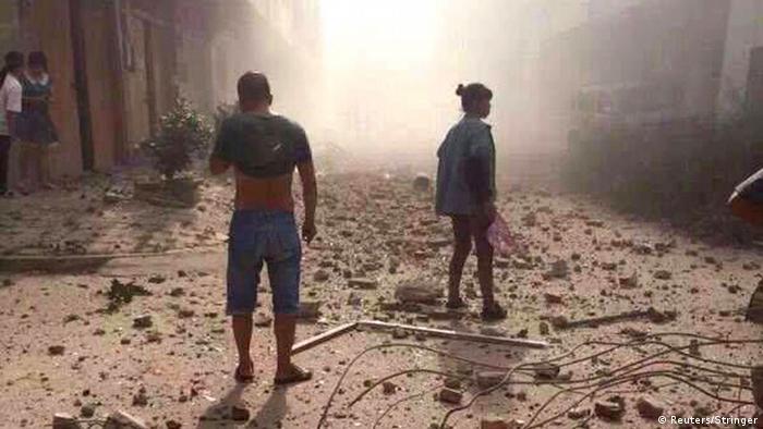 Explosion in Liuzhou, China