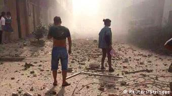 Explosion in Liuzhou, China