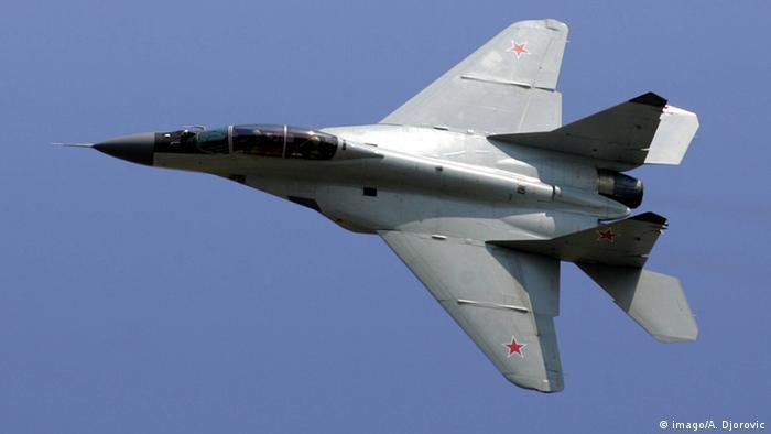 Russland MiG-29 Kampfjet