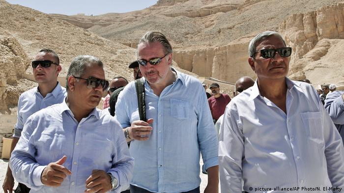 Ägypten Ägytologe Nicholas Reeves in Luxor