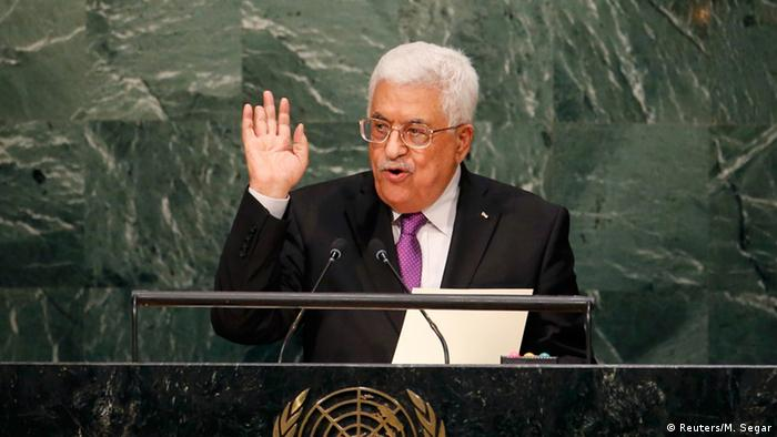 Palästinensischer Präsident Mahmoud Abbas (Foto: Reuters/M. Segar)