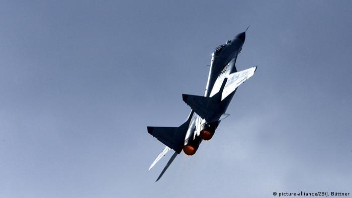 Russisches Kampfflugzeug MiG-29