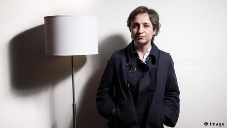 Mexiko Carmen Aristegui Journalistin