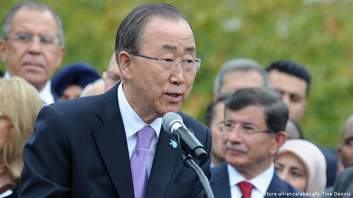 New York Ban Ki Moon ruft Welt zu Solidarität mit Flüchtlingen auf