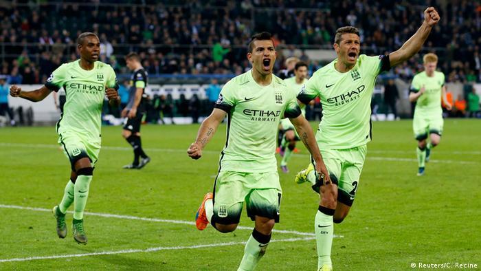 UEFA Champions League VfL Borussia Mönchengladbach vs. Manchester City