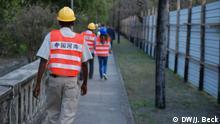 Mosambik Chinesische Baufirma in Afrika