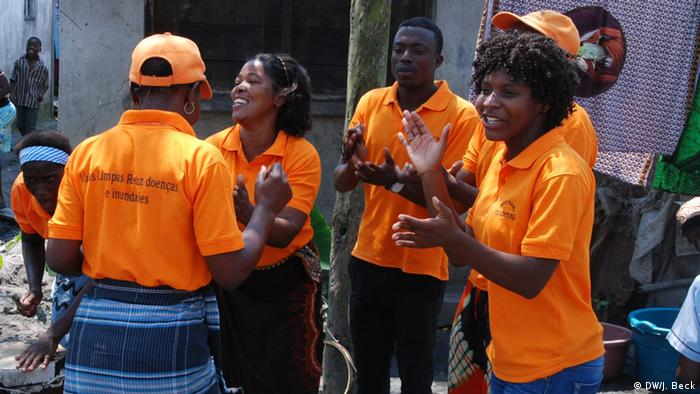 Mosambik Aufklärungstheatergruppe Kasamuka in Beira