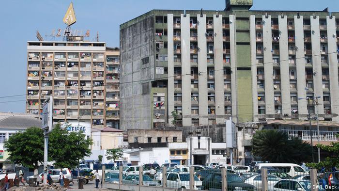 Mosambik Innenstadt von Beira (DW/J. Beck)