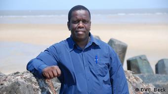 Mosambik Daviz Simango Bürgermeister von Beira (DW/J. Beck)