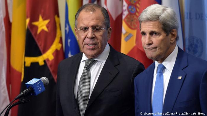 Sergej Lavrov i Džon Keri, članovi Bliskoistočnog kvarteta 2015. u Njujorku