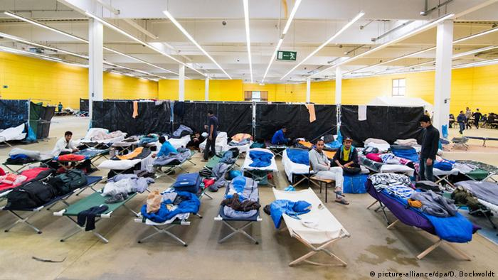 Приют для беженцев в Гамбурге
