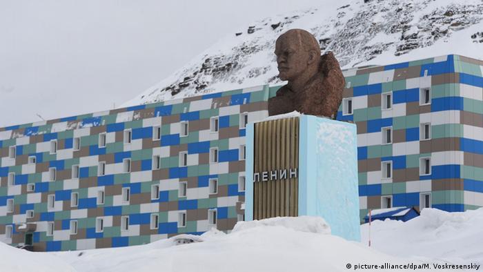 Памятник Ленину в Баренцбурге