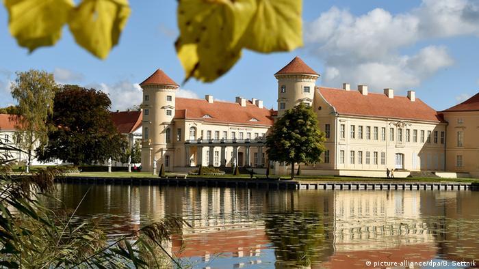BdT Deutschland Herbst Schloss in Rheinsberg