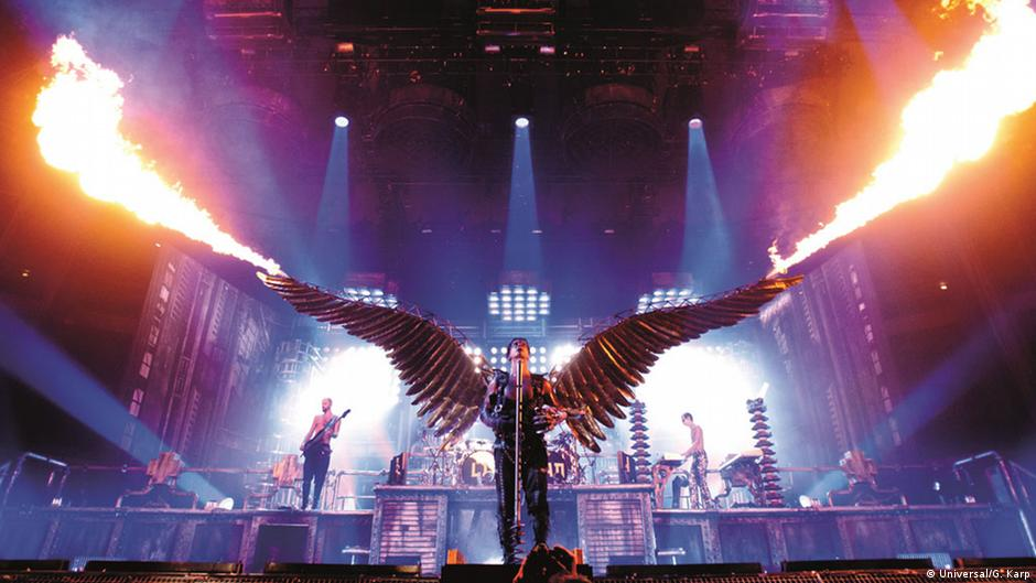 Rammstein concert masturbate