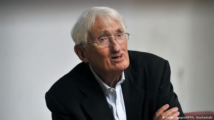 Jürgen Habermas (Getty Images/AFP/L. Gouliamaki)