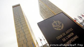 Building of the European Court of Justice in Luxemburg