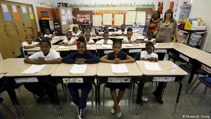 Kinder in Klassenzimmer in Chicago (Foto: REUTERS/Jim Young)