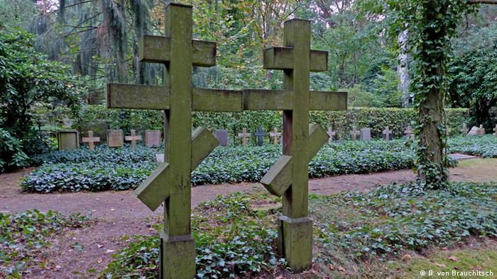 Berliner Friedhofsszene Grunewald