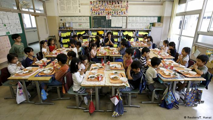 Japan Klassenzimmer in Tokio (Foto: REUTERS/Toru Hanai)