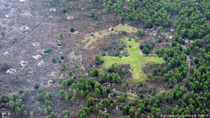 The former Soviet military drill ground called Bombodrom (Photo: Bernd Settnik/dpa)