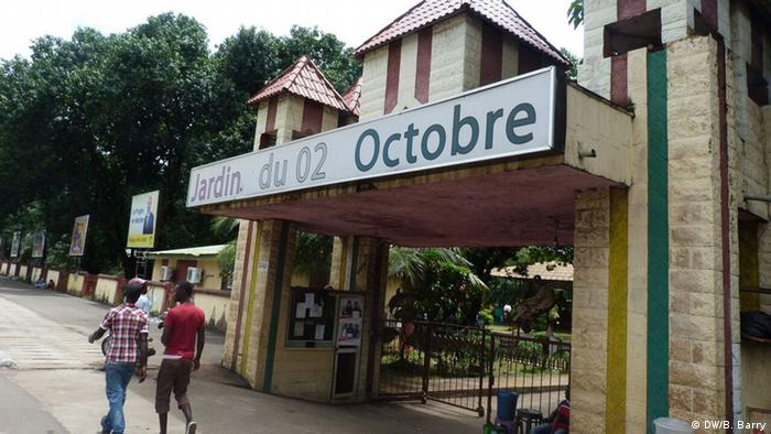 Guinea, Garten der Unabhängigkeit in Conakry