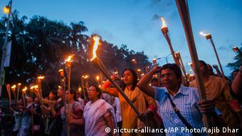 Protest nach Mord an bengalischem Blogger Niloy Chottopadhay