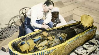 English archaeologist Howard Carter