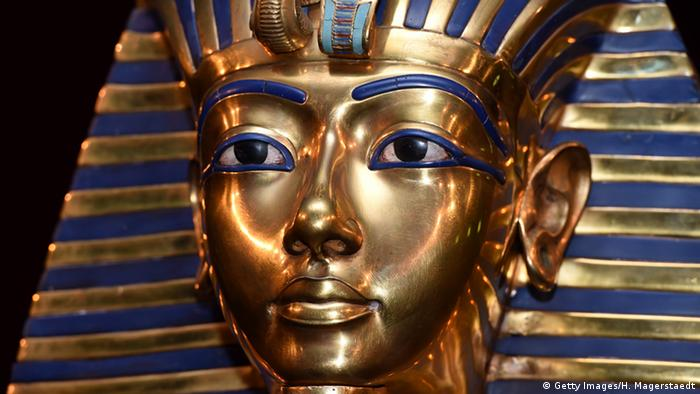 King Tut's mask, Copyright: Hannes Magerstaedt/Getty Image