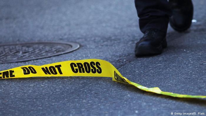 Symbolbild USA Polizeiabsperrung
