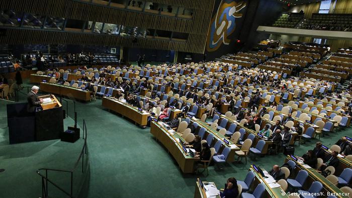 USA UN Deutschland Außenminister Frank-Walter Steinmeier Vollversammlung