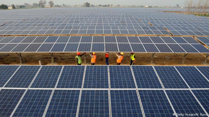 Indien erneuerbare Energie Solarenergie in Punjab
