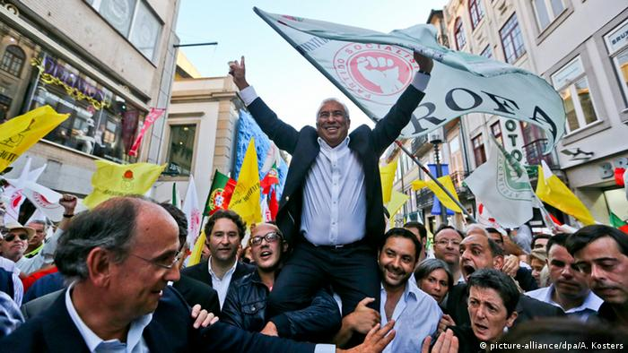 Socialist leader Costa campaigned on a platform to end austerity