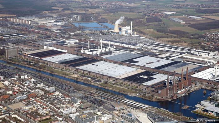 Головной завод Volkswagen в Вольфсбурге