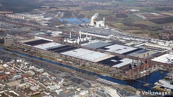 Το εργοστάσιο στην έδρα της VW, στο Βόλφσμπουργκ της Γερμανίας
