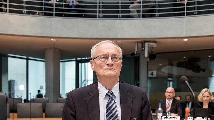 Deutschland August Hanning vor NSA Untersuchungsausschuss