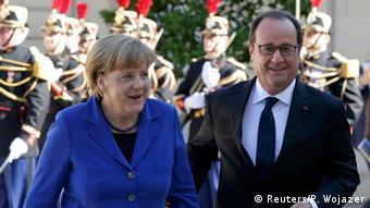 Paris Ukraine-Gipfel Merkel und Hollande