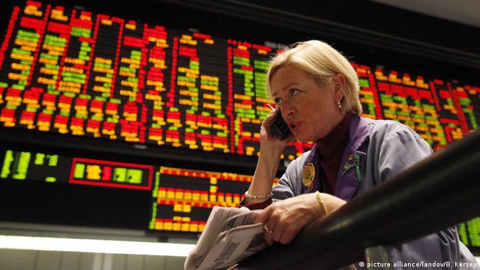 Symbolbild Trader Börse Kurse