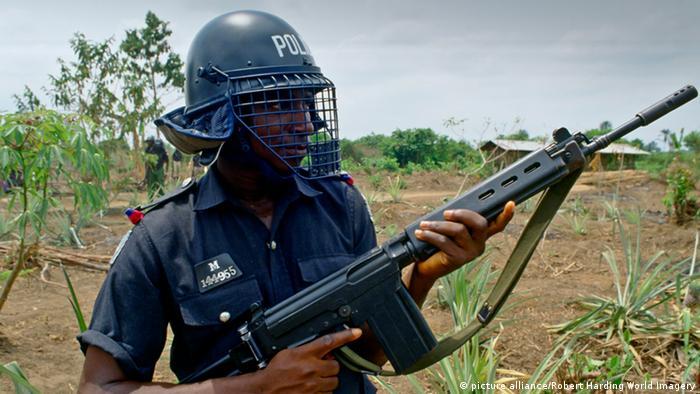 Nigeria Polizei