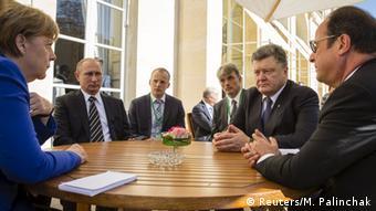 Встреча лидеров государств нормандской четверки