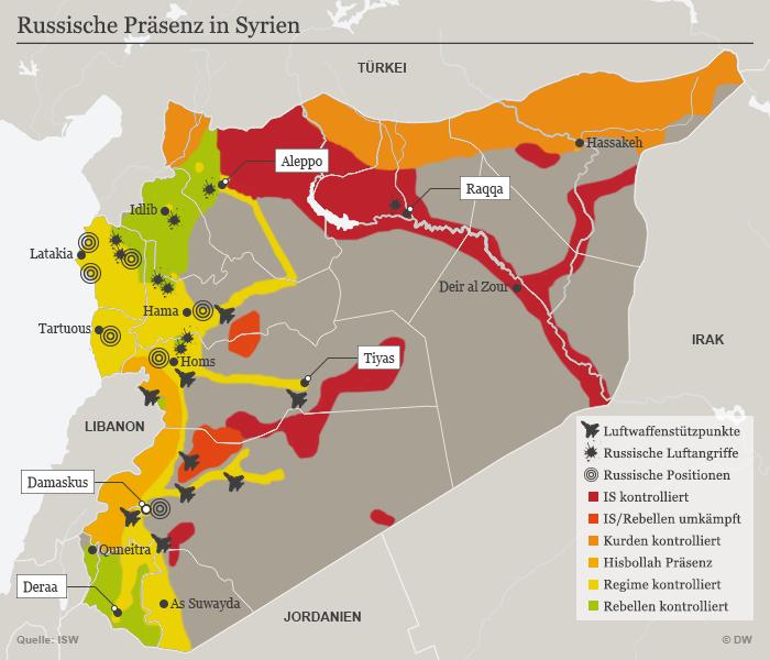 Syrien Bürgerkrieg Verlauf
