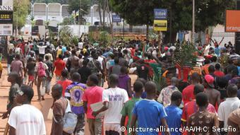 Zentralafrikanische Republik Bangui Proteste und Gewalt (picture-alliance/AA/H.C. Serefio)