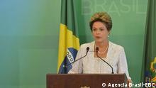 EN BRASIL: Dilma Rousseff trata de salvar su mandato