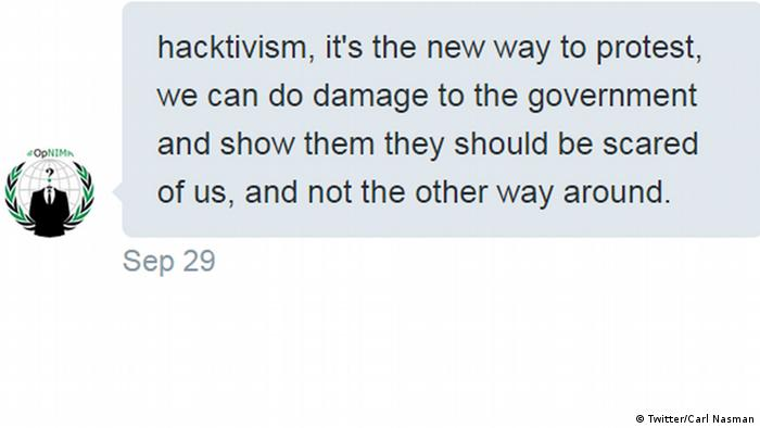 Anonymous hacktivist explains why group is targeting Saudi