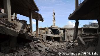 Syrien Homs Talbisseh Ruine Mutmasslicher Russischer Luftangriff