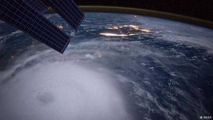 ISS Hurricane Joaquin Atlantik