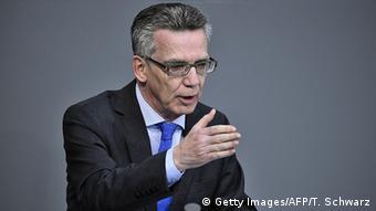 Bundestag Rede Thomas de Maiziere