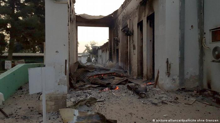 Kundus Afghanistan Angriff US Krankenhaus Ärzte ohne Grenzen
